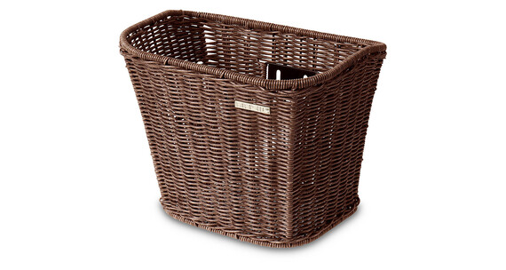 Basil Boston-Rattan Look - Panier vélo - marron